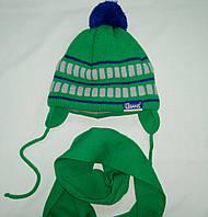 Зимний комплек шапка и шарф 50-52р