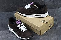 Мужские кроссовки Nike 87 коричневые в фирменной коробке