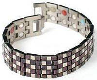 Турмалиновый браслет с магнитами Шахматы 4В1 Вековой Восток
