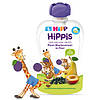Органическое фруктовое пюре HiPP HiPPiS Груша-слива-смородина, 100 г
