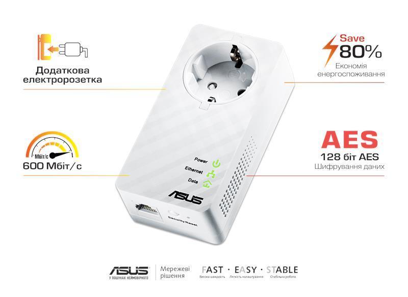 Адаптер ASUS PL-E52P