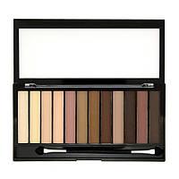 Makeup Revolution Тени для век 12 цветов Redemption Eyeshadow Palette 14 g.№Essential Shimmers