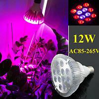 12w E27 8 красный 4 синий сад завод растет LED лампа парниковый свет роста рассады растений