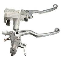 Правый и левый главный цилиндр тормоз для Honda CR125R 250R 450R crf250r CRF250X 450X