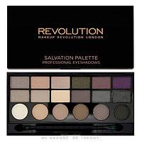 Makeup Revolution Тени для век 18 цветов Salvation Palette 13 g.№Hard Day