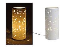 Керамичная настольная лампа