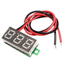 3Pcs Geekcreit® White 0.28 дюймов 3.0V-30V Миниатюрный измеритель напряжения вольтметра Voltmeter, фото 2