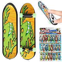 24pcs 3.94 мини-скейтборд Научите палубе грифы светящееся подшипника ступицы колеса