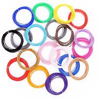 Effetool 20 цветов PLA 10M 1,75 мм PLA Филаменты 3D печать Pen Printer Filaments