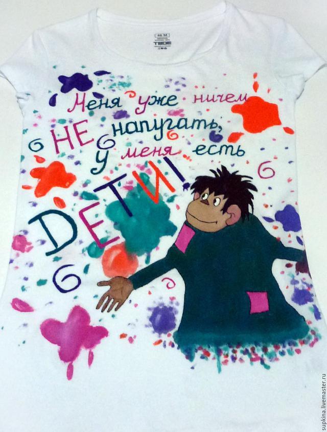 Сделать футболку со своим рисунком в Днепре