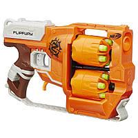 Детское оружие бластер Нерф Зомби Страйк Переворот детское оружие, Nerf Zombie Strike FlipFury Blaster A9603