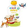 Органическое фруктовое пюре HiPP HiPPiS Яблоко-банан, 100 г