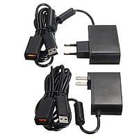 2.3m USB адаптер переменного тока кабель питания для Xbox 360 Kinect датчика ес / нас заткнуть