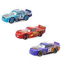 Игровой набор Молния МакКвин, Кол Визерс и Бобби Свифт Deluxe Die Cast Set Cars 3/Тачки 3