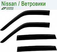 Nissan Murano I (Z50) 2002-2008 — ветровики/дефлекторы окон (комплект)