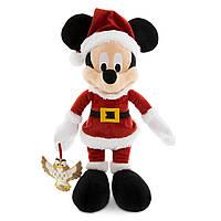 Микки Маус Санта с совой 38 см Микки маус новогодний праздничный 7512055890302P Дисней/Disney