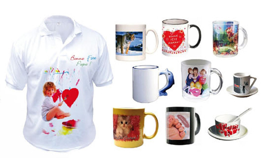 Печать на кружках и футболках