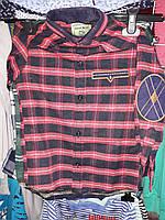 Стильная рубашка для мальчика подростка