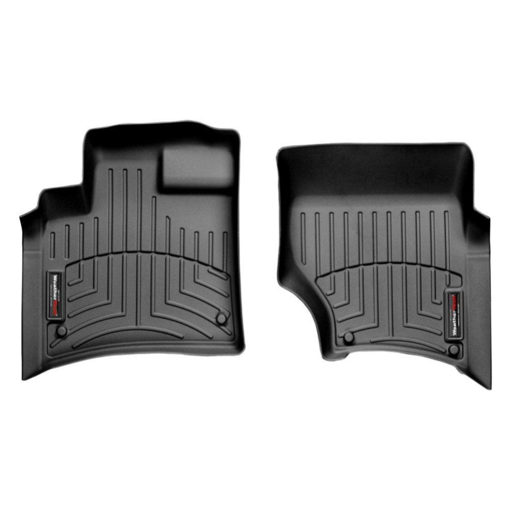 Коврики в салон для Audi Q7 2005- с бортиком черные передние 441511