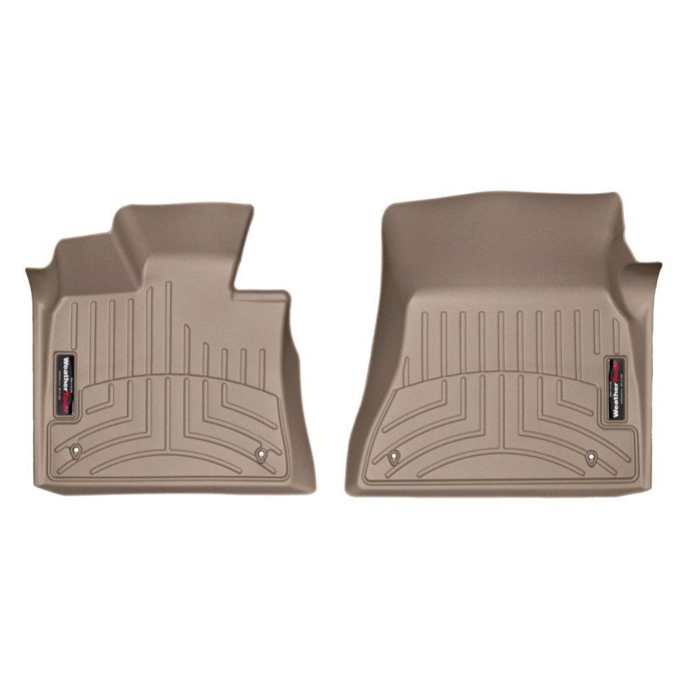 Коврики в салон для BMW X5/X6 2014- с бортиком передние бежевый 455591