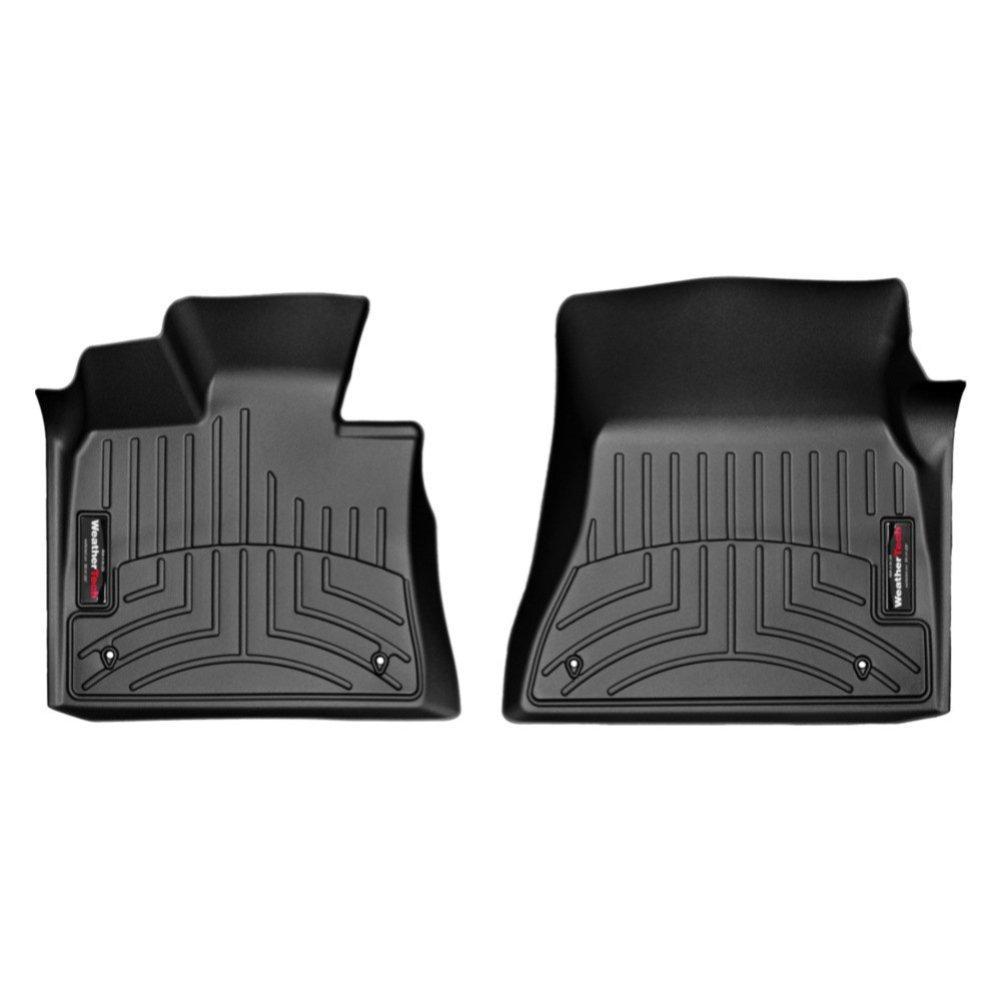 Килимки в салон для BMW X5/X6 2014 - з бортиком передні чорні 445591
