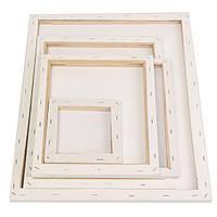 Белый пустой квадрат холстины чертежной доске Деревянные рамки для Art Художественные масляные акриловые краски