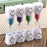 1 минута Песочные часы Mini Smiling Face Sand Часы Таймер Песочное стекло Декор Подарочная кухня Timming