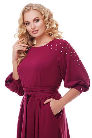28b5671866d Красивое длинное платье в пол Вивьен марсала  1 350 грн. Купить в ...
