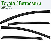 Toyota Venza 2008 — ветровики/дефлекторы окон (комплект)