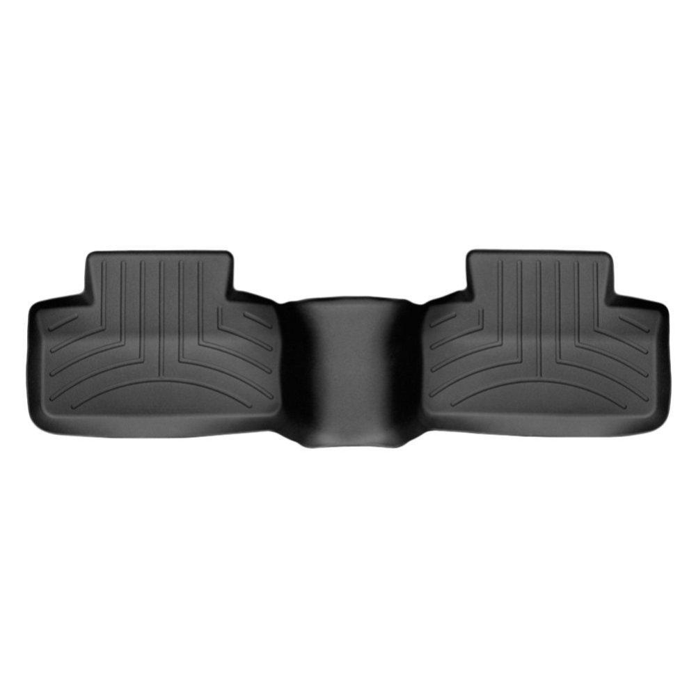 Коврики в салон для Land Rover Evoque 2011- с бортиком черные задние 444042