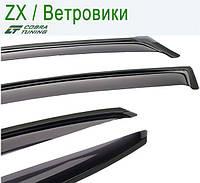 ZX Landmark 2007 — ветровики/дефлекторы окон (комплект)