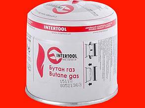 Баллончик к пропановым горелкам Intertool GB-0050