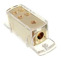 Мощность наземного блока распределения кабеля сплиттер стерео усилитель аудио автомобиля 4 способа