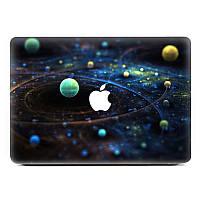 Съемная 3d эффект планета серии винила полное покрытие кожи наклейка для Macbook Pro 13 дюймов