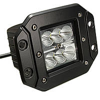 5 дюймов Площадь Cube LED Лампа POD Flood Рабочий свет для внедорожного бампера 18W