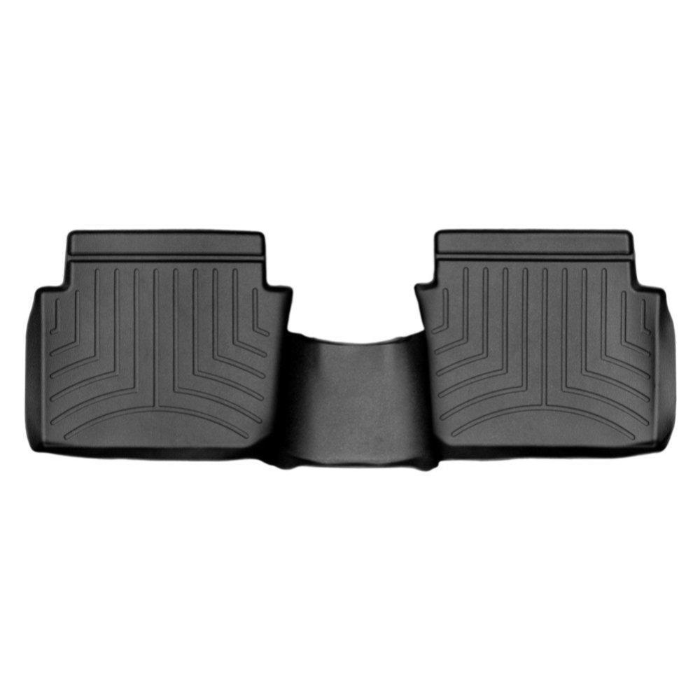 Коврики в салон для Mazda 3 2013- с бортиком задние черные 444863