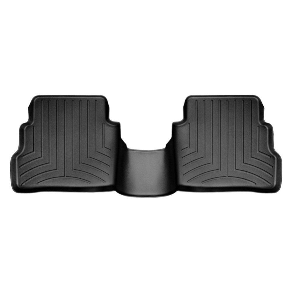 Килимки в салон для Mazda CX-5 2012 - з бортиком задні чорні 444192