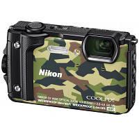 Цифровой фотоаппарат Nikon Coolpix W300 Camouflage Holiday kit (VQA073K001)