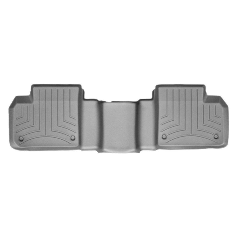 Килимки в салон для Mercedes-Benz GL/ML 2012 - з бортиком сірі задні 464012