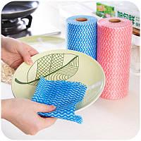 Уборка кухни нетканое полотно одноразовая ткань чистки чаши стиральная ткань