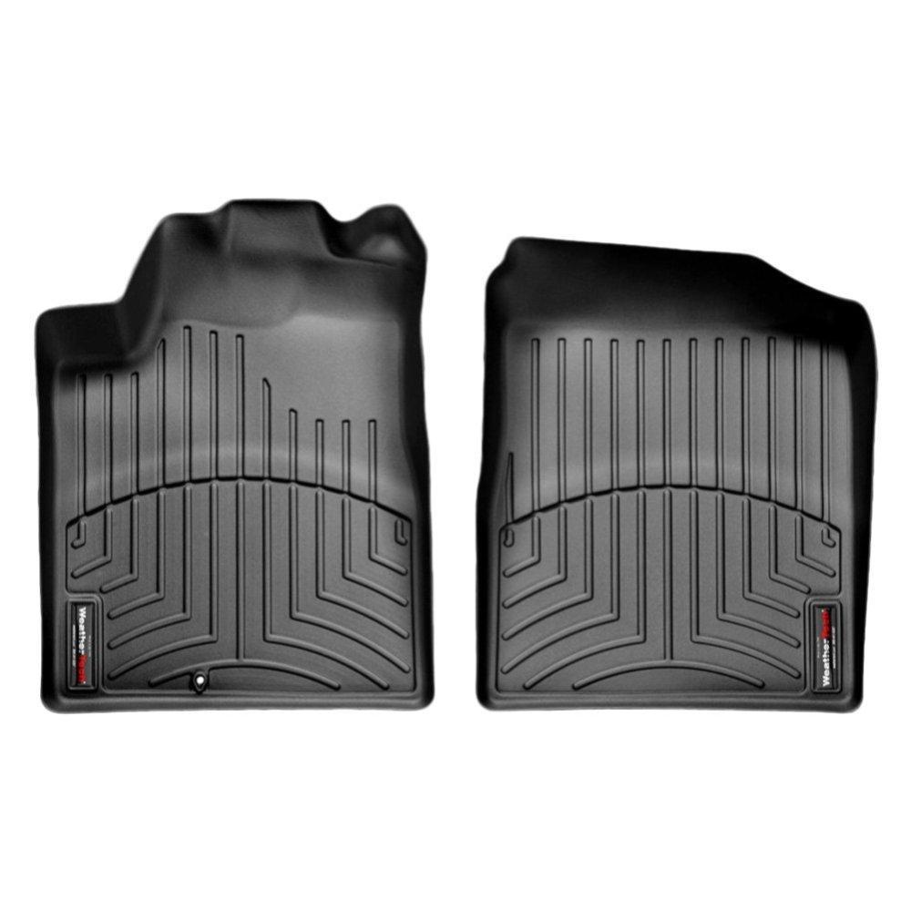 Коврики в салон для Nissan Teana 2004-08 с бортиком черные передние (MAXIMA USA) 441691