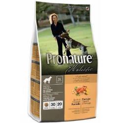 Сухой корм для собак Pronature Holistic (Пронатюр Холистик) с уткой и апельсинами Без Злаков, 2,72 кг