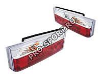 Задние фонари ВАЗ ВАЗ 2108, 2109, 21099, 2113, 2114 серии Classic, хромированные RS-04620