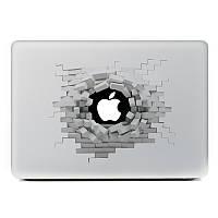 Съемный 3D-эффект винила кожи наклейки для MacBook 13 дюймов