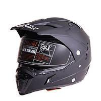 ECE Dual Объектив мотоцикл Полностью защитный шлем безопасности для гонок для GDR-311