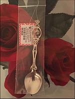 Серебряная ложка Колокольчик  925 пробы