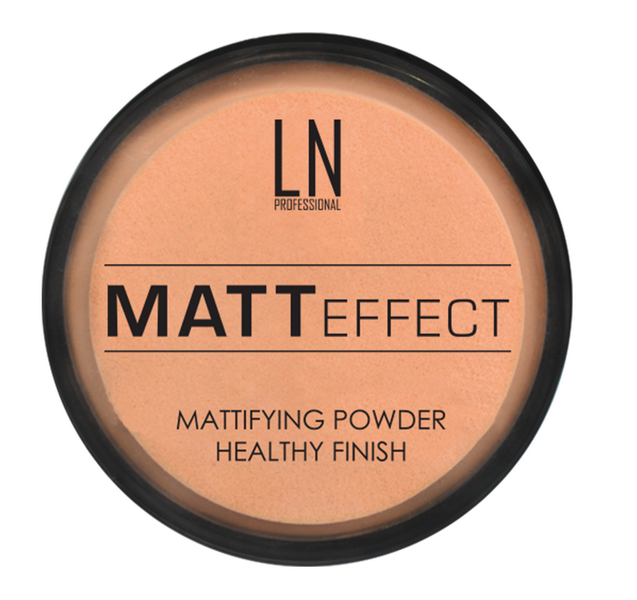 Пудра для лица LN Professional MATT EFFECT