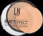 Пудра для лица LN Professional MATT EFFECT , фото 3