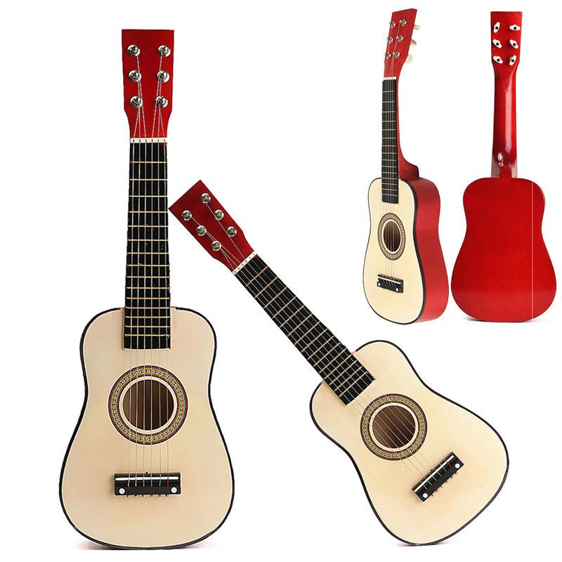 Красный 23 начинающих практиковать акустическая гитара ж / 6 струны для детей детей - ➊TopShop ➠ Товары из Китая с бесплатной доставкой в Украину! в Днепре