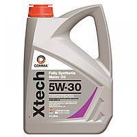Синтетическое моторное масло Comma Xtech 5w30 4L